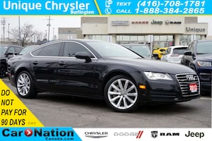 2012 Audi A7 PREMIUM| NAV| TECHNOLOGY PKG| 19in 10-SPOKE WHEELS