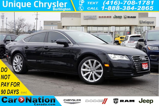 2012 Audi A7 PREMIUM| NAV| TECHNOLOGY PKG| 19in 10-SPOKE WHEELS Sedan
