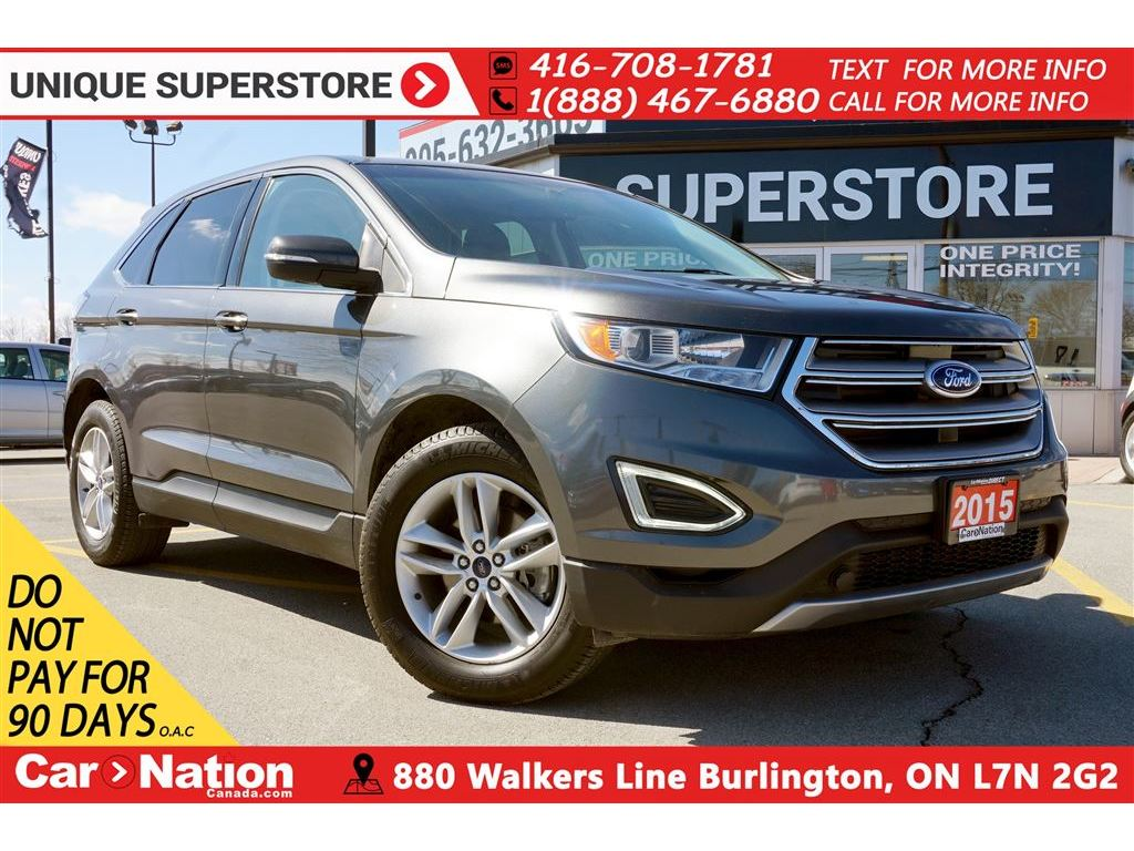 2015 Ford Edge SEL| REAR CAM| HEATED SEATS| REMOTE START & MORE SUV