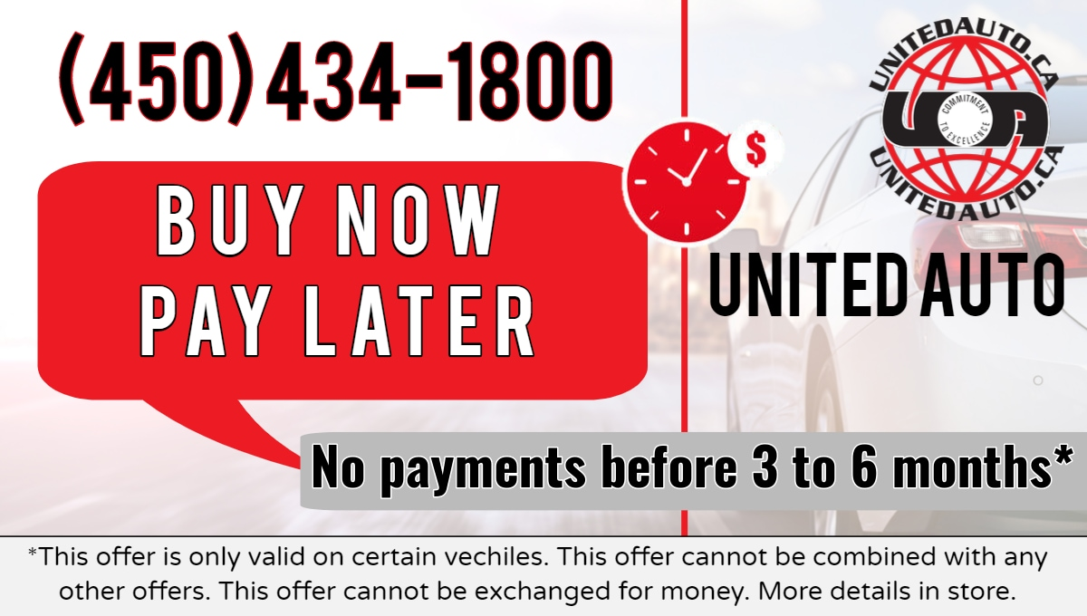 Buy Now Pay later - United Auto