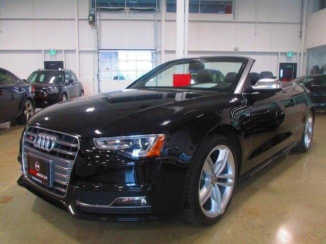 2015 Audi S5 3.0T TECHNIK NAV BACK UP CAMERA Décapotable ou cabriolet
