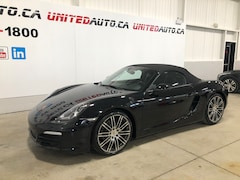 2016 Porsche Boxster Black Edition Convertible