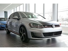 2016 Volkswagen GTI AUTOBAHN NAVIGATION SUNROOF LEATHER RED STITCHING À hayon