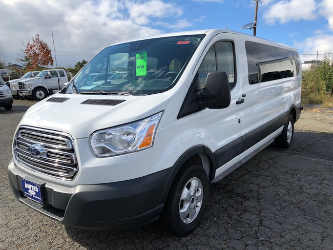 2018 Ford Transit-350 XL w/60/40 Pass-Side Cargo Doors Wagon Low Roof Passenger Wagon