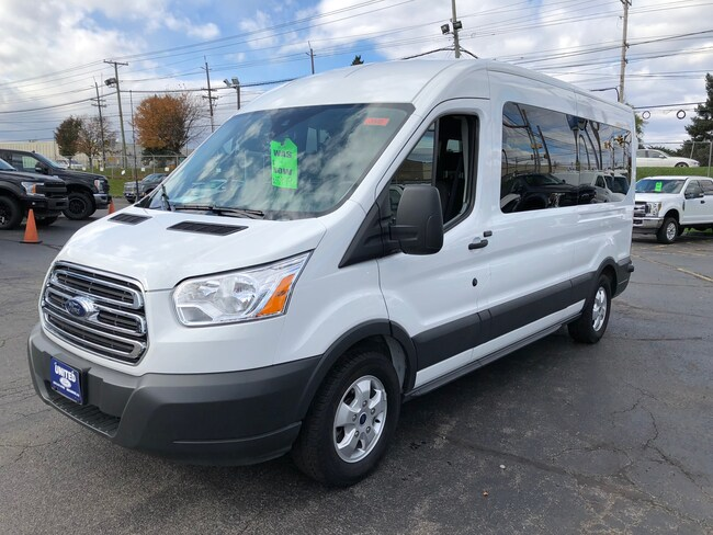 2018 Ford Transit-350 XLT w/Sliding Pass-Side Cargo Door Wagon