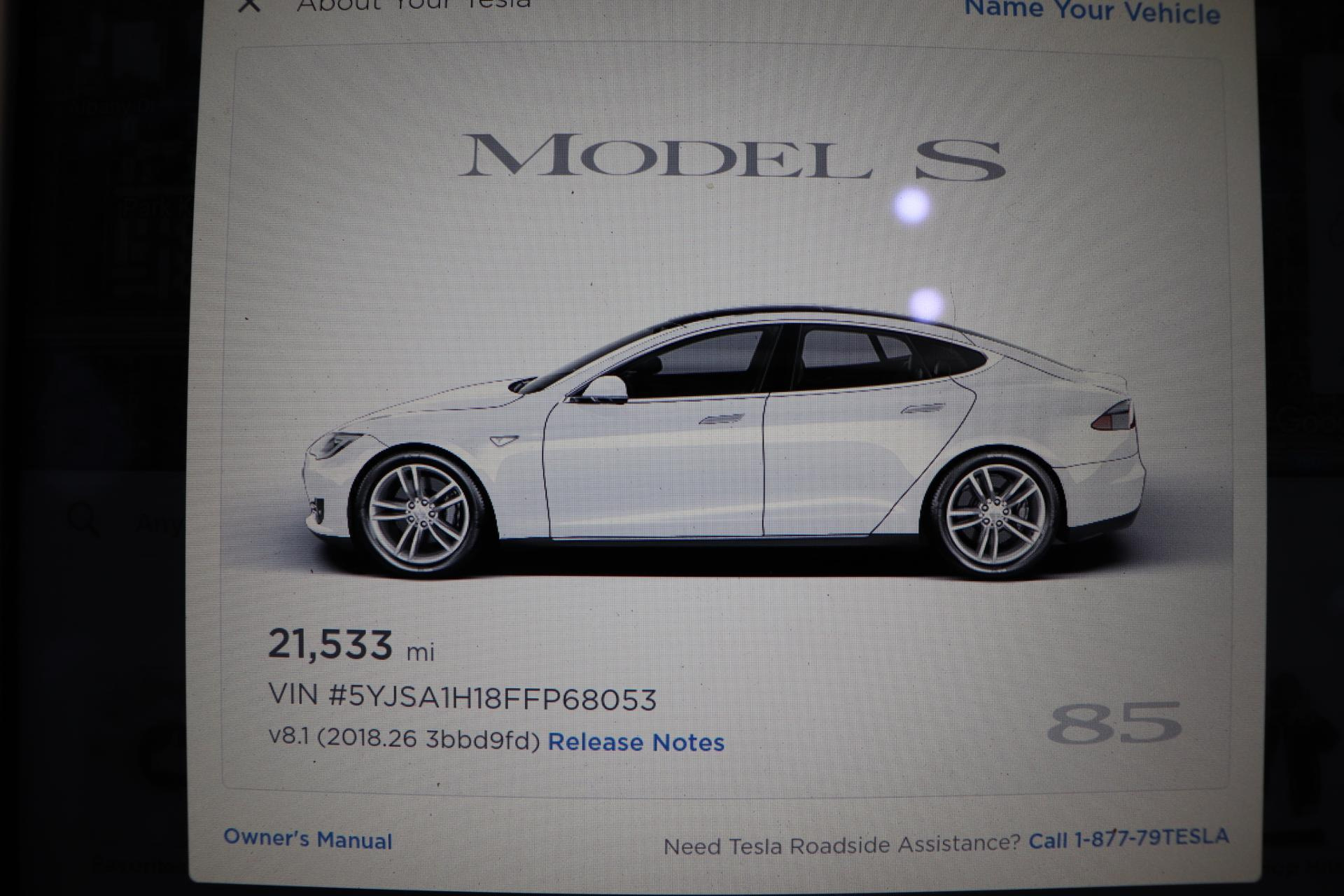 Used 2015 Tesla Model S For Sale San Jose Ca Vin 5yjsa1h18ffp68053