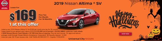 Los Angeles Nissan Dealer Lease Specials Universal City