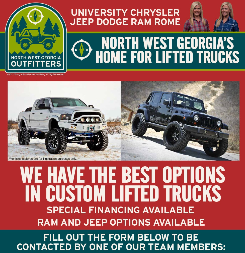 University Chrysler Dodge Jeep Ram | New Chrysler, Dodge, Jeep, Ram