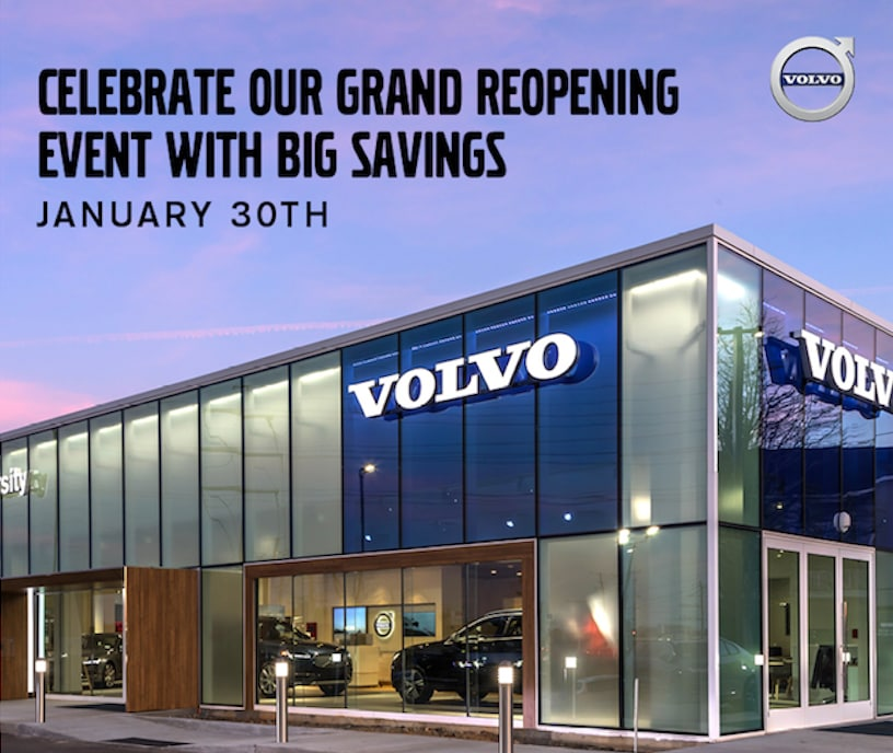 GRAND RE-OPENING EVENT | University Volvo Cars