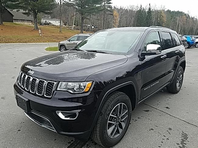 New 2019 Jeep Grand Cherokee LIMITED 4X4 Sport Utility in Saranac Lake, NY