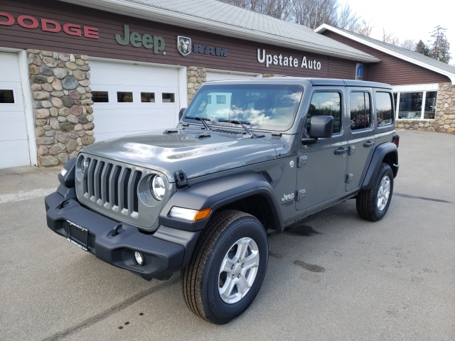 Buy Jeep Wrangler >> New 2019 Jeep Wrangler Unlimited Sport S 4x4 For Sale In Saranac Lake Ny Near Lake Placid Tupper Lake Plattsburgh Malone Ny