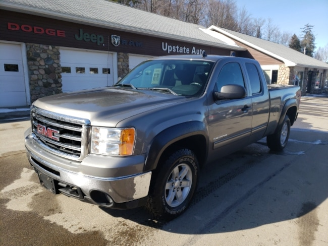 Used 2013 GMC Sierra 1500 SLE 4WD Truck Extended Cab in Saranac Lake, NY