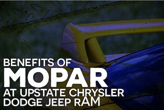 Benefits of MOPAR and OEM Parts | Upstate Chrysler Dodge