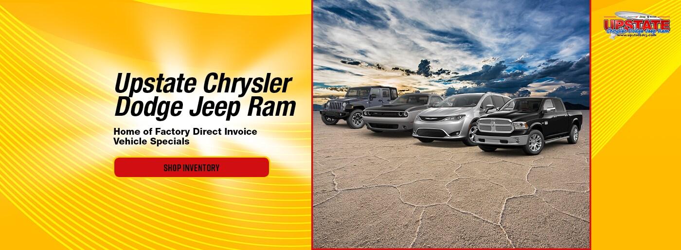 Upstate Chrysler, Dodge, Jeep RAM Dealership Attica near Perry, NY