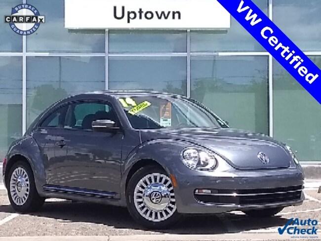 Certified Pre-Owned 2014 Volkswagen Beetle 1.8T Hatchback 3VWJ07AT7EM638320 For Sale Albuquerque NM