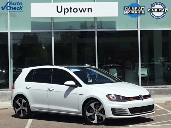 Certified Pre-Owned 2016 Volkswagen Golf GTI Autobahn Hatchback 3VW547AU9GM055877 For Sale Albuquerque NM