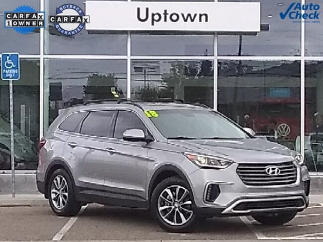 Used 2018 Hyundai Santa Fe SE SUV KM8SM4HF7JU263296 For Sale Albuquerque, New Mexico