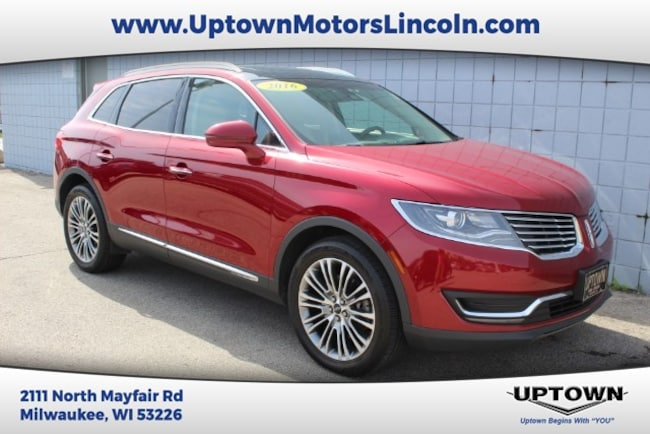 Lincoln Dealer Milwaukee >> Used 2016 Lincoln Mkx For Sale At Uptown Lincoln Vin
