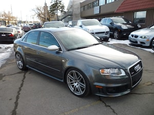 2007 Audi RS 4 4.2L V8 RARE CANADIAN CAR!/NAVI/ALLOYS/420 HP!