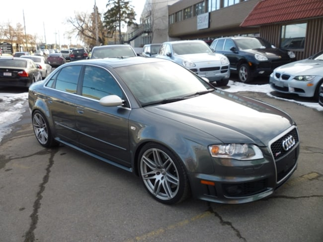 2007 Audi RS 4 4.2L V8 RARE CANADIAN CAR!/NAVI/ALLOYS/420 HP! Sedan