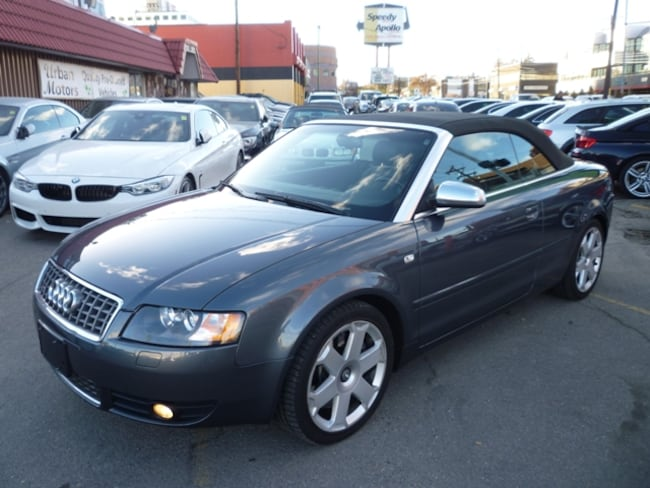 2004 Audi S4 RARE 6 SPD MAN/ALLOYS/POWER TOP/ONLY 90000 KMS !! Convertible
