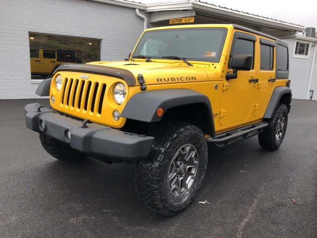 Certified Used 2015 Jeep Wrangler Unlimited Rubicon For Sale in