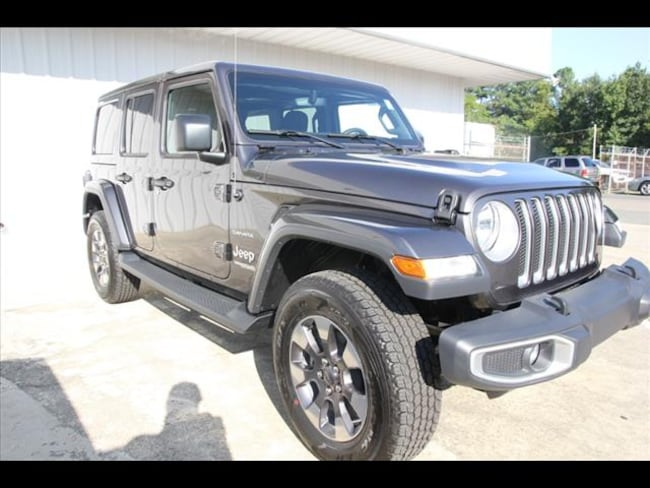 2018 Jeep Wrangler UNLIMITED SAHARA 4X4 Sport Utility for sale in Sanford, NC at US 1 Chrysler Dodge Jeep