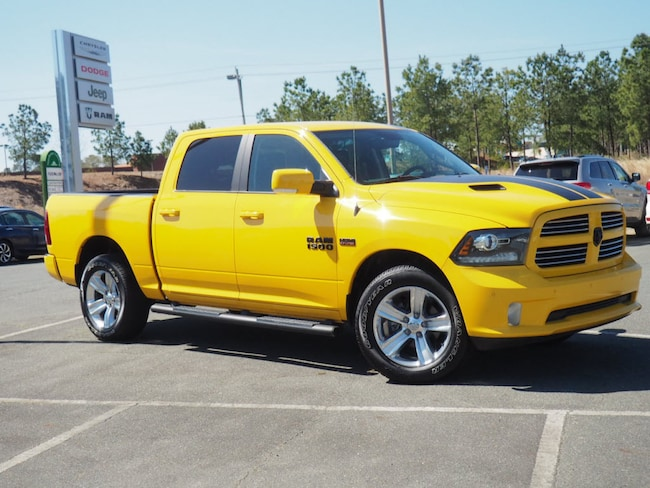 2016 Ram 1500 Sport Truck Crew Cab for sale in Sanford, NC at US 1 Chrysler Dodge Jeep