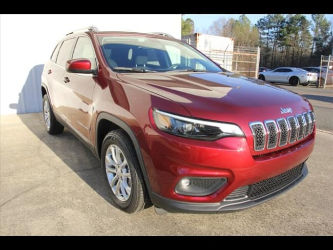 2019 Jeep Cherokee LATITUDE FWD Sport Utility for sale in Sanford, NC at US 1 Chrysler Dodge Jeep