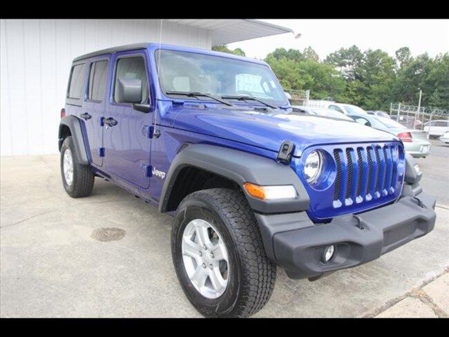 2018 Jeep Wrangler UNLIMITED SPORT S 4X4 Sport Utility for sale in Sanford, NC at US 1 Chrysler Dodge Jeep