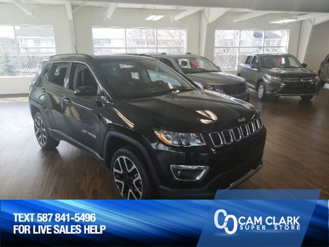 2018 Jeep Compass Limited 4x4 Sun Roof, Navigation, Remote Starter SUV