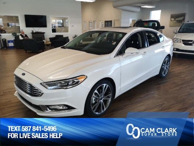 2018 Ford Fusion Titanium AWD Moon Roof, Leather, Remote Starter Sedan