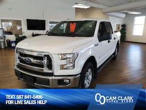 2015 Ford F-150 XLT Crew 4x4 2.7L Eco, Trailer Tow Package, Skid P