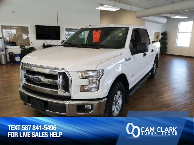 2015 Ford F-150 XLT Crew 4x4 2.7L Eco, Trailer Tow Package, Skid P Truck