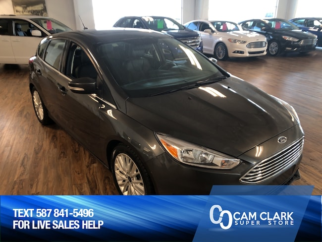 2018 Ford Focus Titanium 2.0L Sun Roof, Leather, Remote Starter, B Hatchback