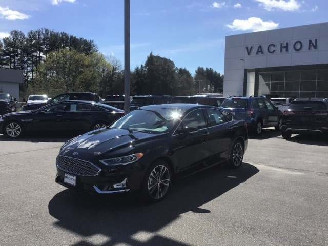 New 2019 Ford Fusion For Sale at Vachon Ford | VIN: 3FA6P0D90KR227826