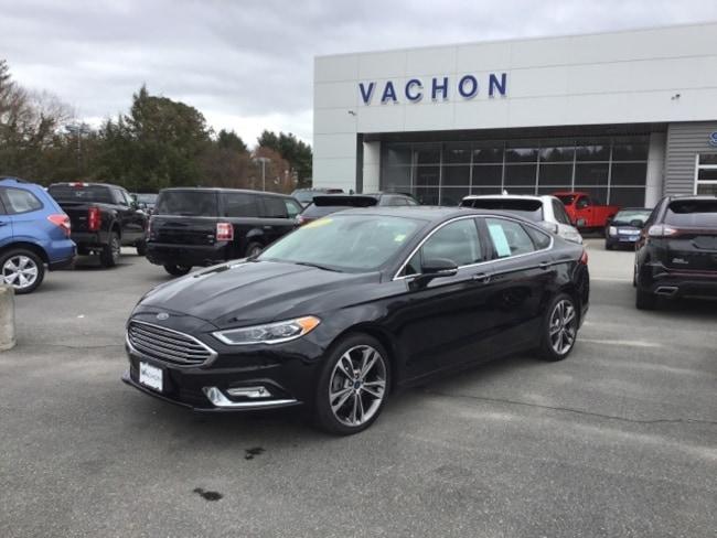 2017 Ford Fusion Titanium Sedan