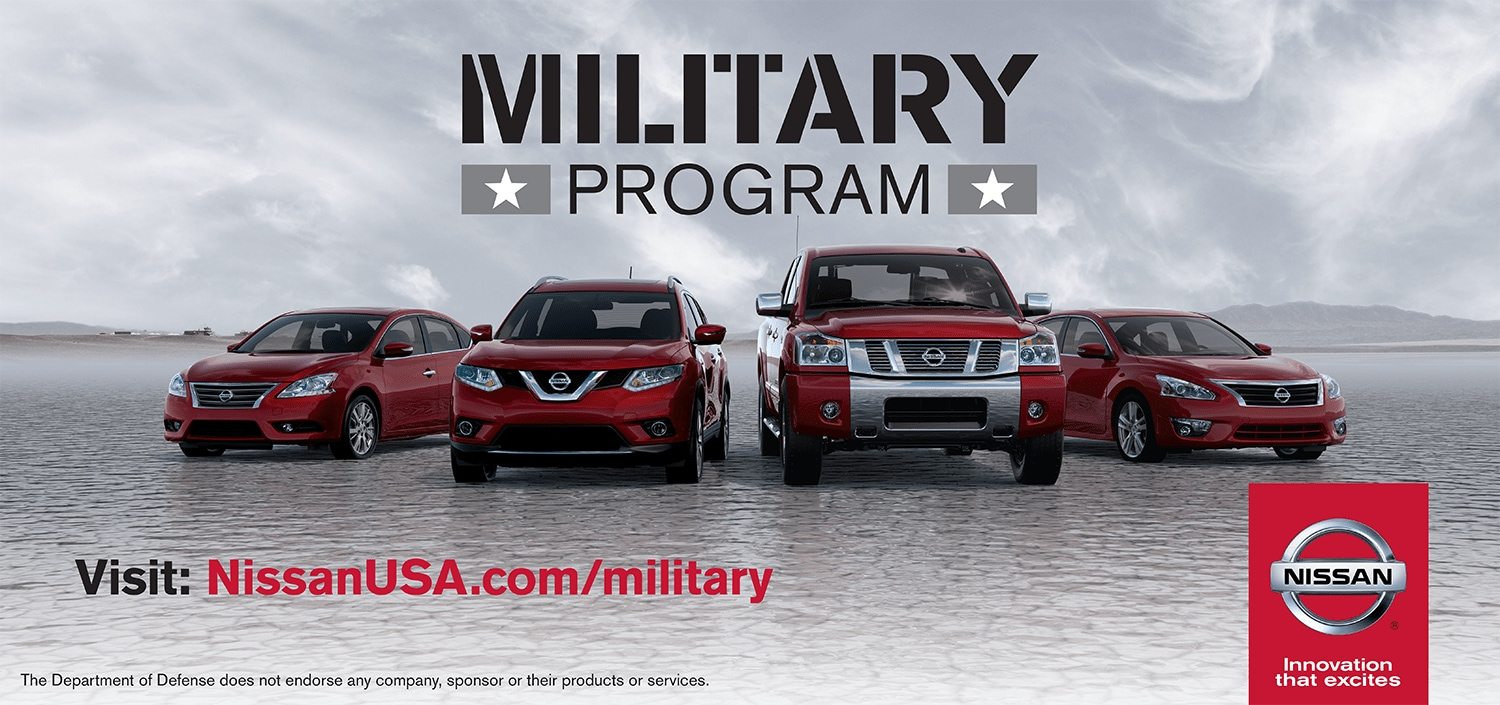 The Nissan Military Discount