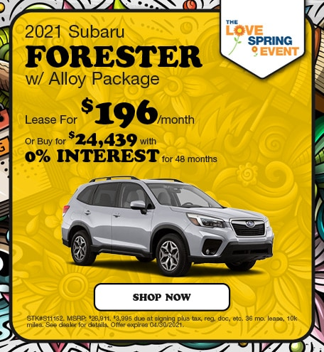 2021 Subaru Forester w/ Alloy Package