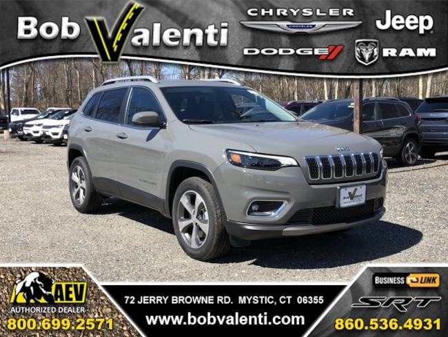 New 2019 Jeep Cherokee LIMITED 4X4 Sport Utility For Sale/Lease Mystic, CT