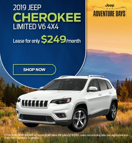 2019 Cherokee September Offer