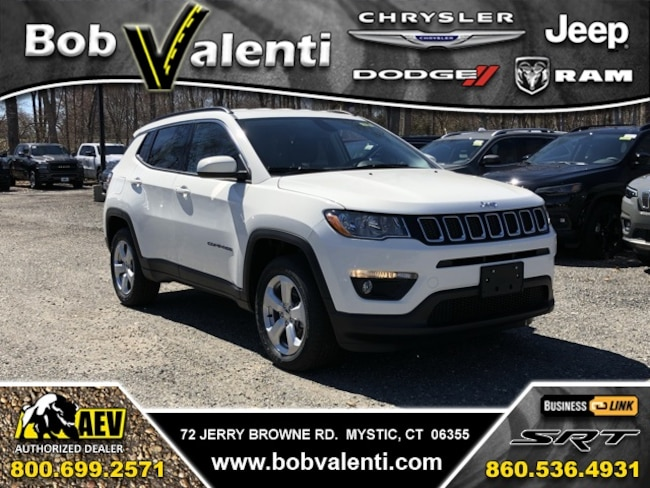 New 2019 Jeep Compass LATITUDE 4X4 Sport Utility For Sale/Lease Mystic, CT