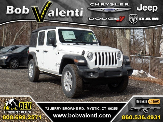 Featured Used 2018 Jeep Wrangler UNLIMITED SPORT S 4X4 SUV for sale in Mystic CT