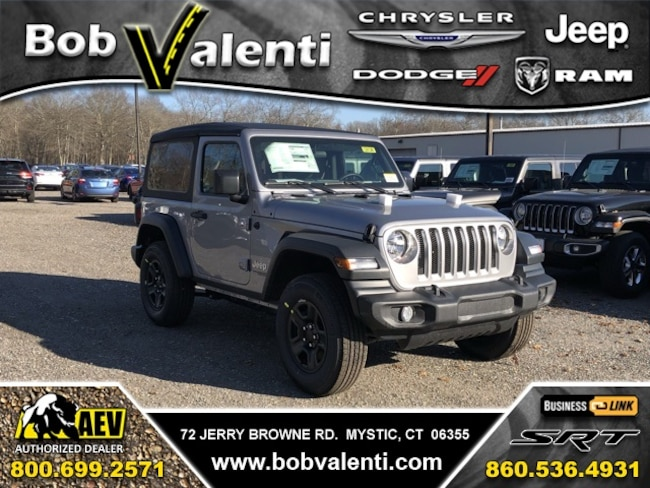 New 2019 Jeep Wrangler SPORT 4X4 Sport Utility For Sale/Lease Mystic, CT