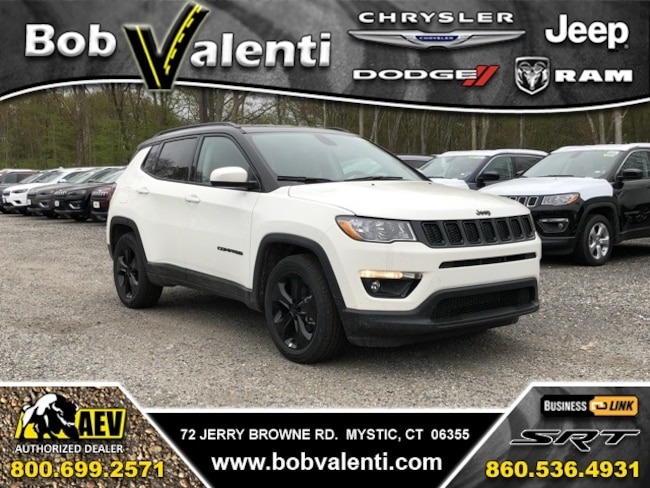 New 2019 Jeep Compass ALTITUDE FWD Sport Utility For Sale/Lease Mystic, CT