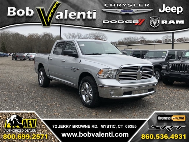 New 2019 Ram 1500 BIG HORN CREW CAB 4X4 5'7 BOX Crew Cab For Sale/Lease Mystic, CT