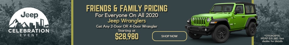2020 Jeep Wrangler March Offer