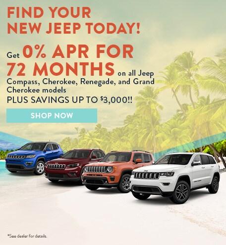 2019 Jeep APR July Offer