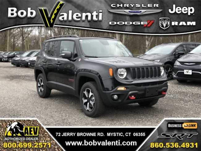 New 2019 Jeep Renegade TRAILHAWK 4X4 Sport Utility For Sale/Lease Mystic, CT