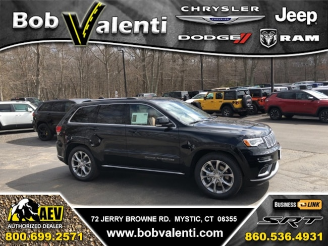 New 2019 Jeep Grand Cherokee SUMMIT 4X4 Sport Utility For Sale/Lease Mystic, CT